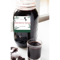 Elderberry Syrup - 8 oz U.S. Shipping Only